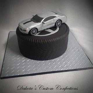 16th Birthday Car Cake