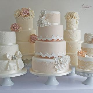 The Vintage Collection  - Cake by Sugar Ruffles