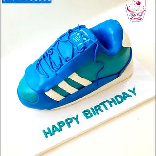 Addidas shoes cake