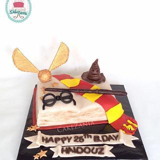 Harry potter cake by cakezania