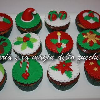christmas cupcakes - Cake by Daria Albanese