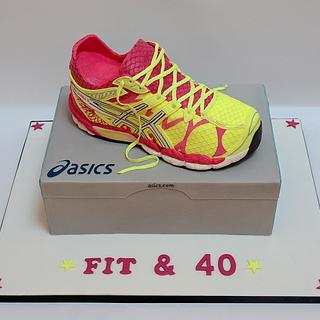 Fit and Forty - Cake by The Chain Lane Cake Co.