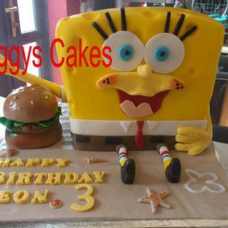 Sponge bob Sponge cake