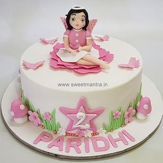 Fabulous Girls 2Nd Birthday Cake 4 Cakes Cakesdecor Funny Birthday Cards Online Fluifree Goldxyz