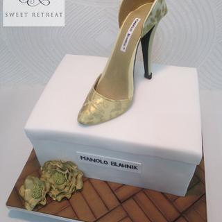 Designer Shoe - Cake by Sweet Retreat Cakes - Gifted Hands