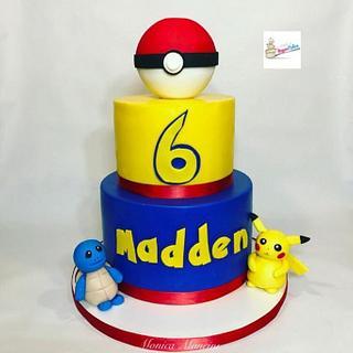 Pokémon themed cake