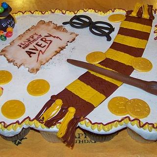 Harry Potter Cupcake cake