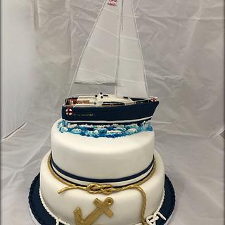 Sailing to the dream  - Cake by Barbara Mazzotta