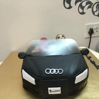 Audi vegan chocolate cake