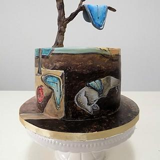 Salvador Dalí - cake