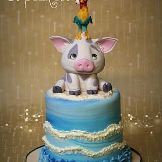 Pua & Heihei - Cake by You've Been Cupcaked (Sara)