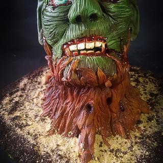 Fungus Fred - Cake International Silver Award - Cake by sCrumbtious Kakes