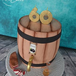 BARREL CAKE (domaća šljivovica) - Cake by Zaklina