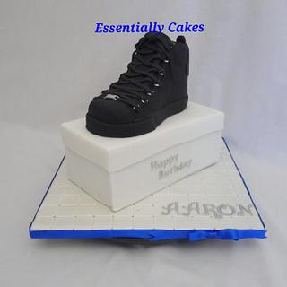Designer Sneakers - Cake by Essentially Cakes