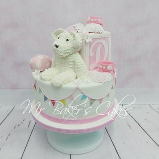 Darcy Bear Cake