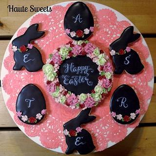 Chalkboard Easter Cookies