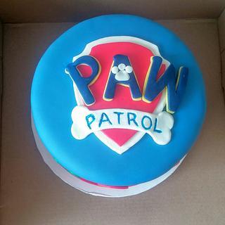 Paw Patrol cake and cupcakes - Cake by m1bame