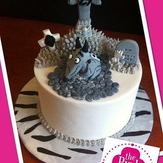 Frankenweenie - Cake by Farrah Leanne