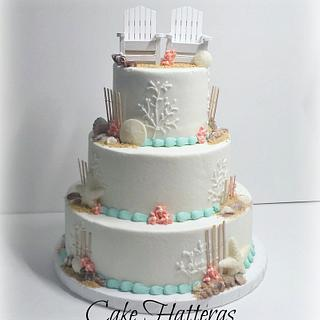 Adirondack Chair Wedding Cake