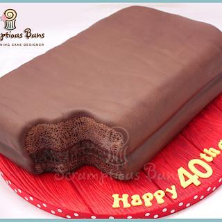 Tim Tam Biscuit Cake