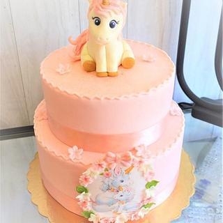 unicorn cake - Cake by Maria Ferreira