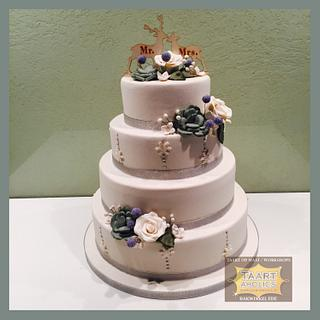Winter weddingcake