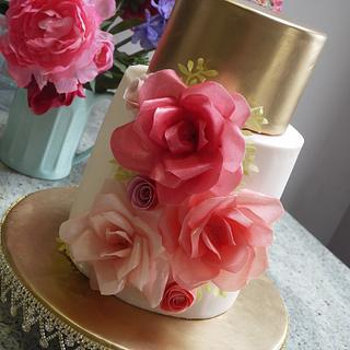 Sunita Wedding Cake