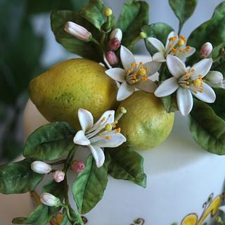 Lemons and Zagara flowers