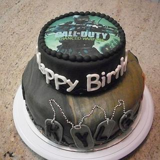 Call of Duty Birthday Cake - Cake by Ms. Shawn