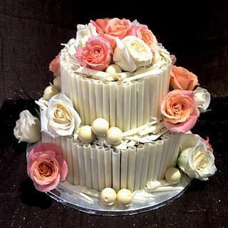 Chocolate scroll cake - Cake by HighTeaTighty