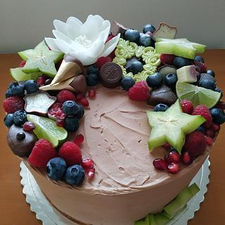 Chocolate cake - Cake by Ellyys