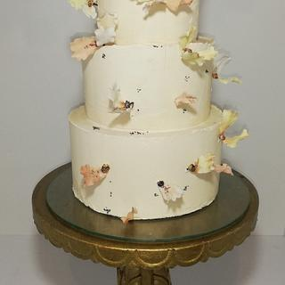 Wedding buttercream cake
