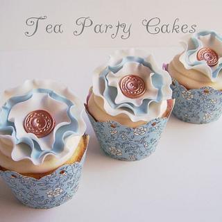 Springtime Vintage Cupcakes