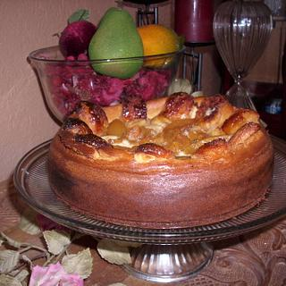 Peach Moscato Cheesecake