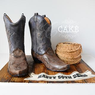 There's a cake in my boots!