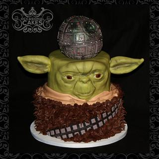 The Force Is Strong - Cake by Occasional Cakes