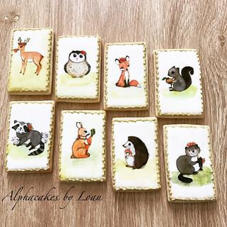 Woodland Cookies 🍃🦊🌼🐿