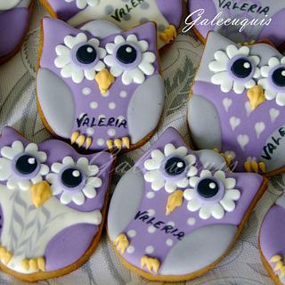 Owls - Cake by Gardenia (Galecuquis)
