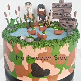 Duck Dynasty - Cake by Pam from My Sweeter Side