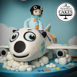 Baby's Arepolnae cake