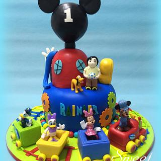 Mickey Mouse Choo Choo Express - Cake by Sweet Success