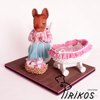 Beatrix Potter themed cake featured in Cake Central Magazine - Cake by Pirikos, Cake Design