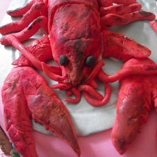 Lobster cake - Cake by Sher