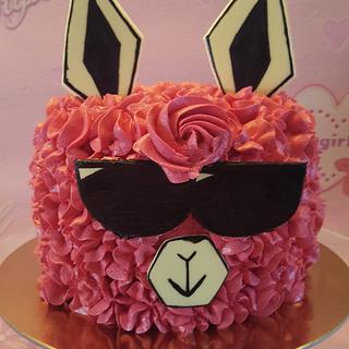 Verry cool alpaca - Cake by Gaabykuh