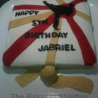 Karate Cake - Cake by Jeanette Rodriguez