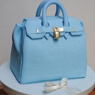 Birkin bag - Cake by Hannah Wiltshire