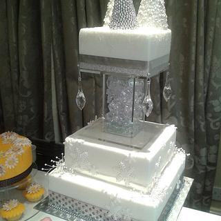 Icy Winter Wonderland bling bling!!