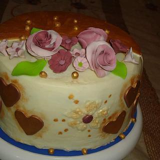 White chocolate cake - Cake by Nodycakes