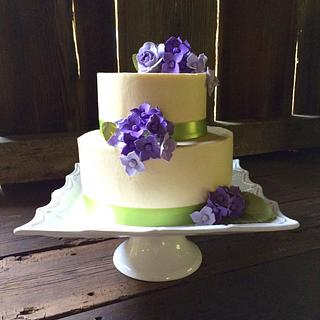 Purple Hydrangea Elegance