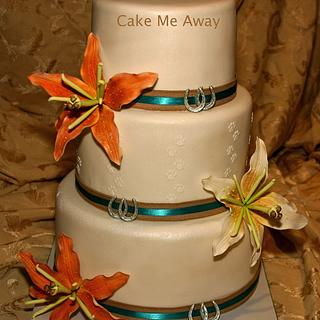 Western Country wedding cake - Cake by Chrissy Rogers